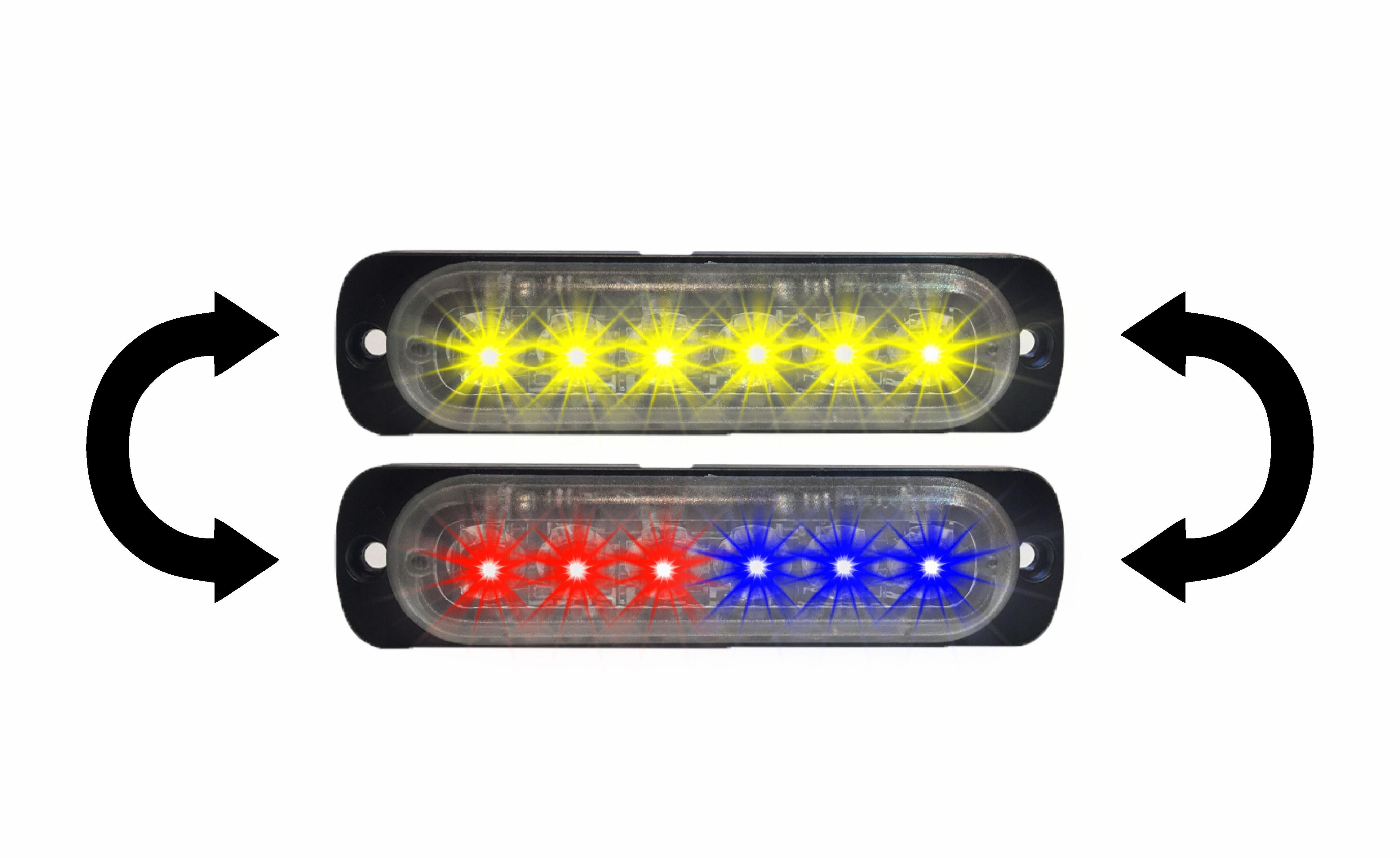 Surface Mount Led Lights Grille Outfitters Emergency Lighting 6 Best Images Of Wiring Damega Dual Color Chameleon Flex Light