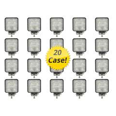 15 WATT LED WORK LIGHT 20 PACK