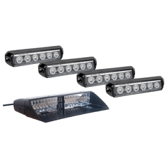 Intimidator Dash Light + 4 Pack A6 Grille Lights