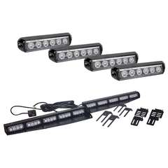 Element Interior Lightbar + 4 Pack A6 Grille Lights