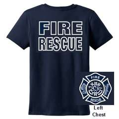 FIRE RESCUE T SHIRT