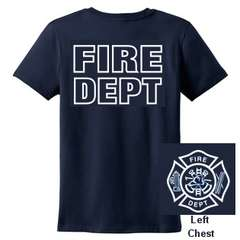 FIRE DEPARTMENT T SHIRT