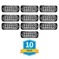 DAMEGA FLEX 12 SLIM LED GRILLE LIGHT 10 PACK