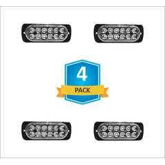 DAMEGA FLEX 12 SLIM LED GRILLE LIGHT 4 PACK