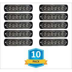 DAMEGA FLEX 6 SLIM LED GRILLE LIGHT 10 PACK