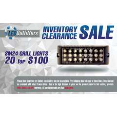 INVENTORY CLEARANCE SALES 20 PACK SM 24 GRILLE LIGHT