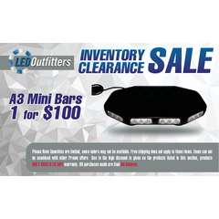 INVENTORY CLEARANCE SALE A-3 MINI LED LIGHT BAR