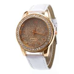 Women Quartz Watch Ladies (WHITE)