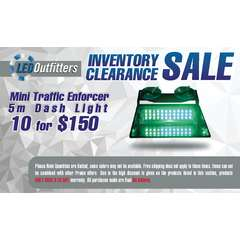 INVENTORY CLEARANCE SALE MINI TRAFFIC ENFORCER 5-M 10 PACK