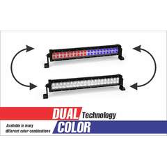 120 WATT DUAL COLOR COMBO SPOT AND FLOOD LIGHT DUAL ROW