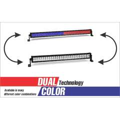 300 WATT DUAL COLOR COMBO SPOT AND FLOOD LIGHT DUAL ROW