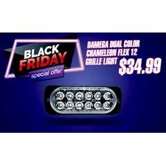 BLACK FRIDAY SALE DAMEGA DUAL COLOR CHAMELEON FLEX 12 GRILLE LIGHT