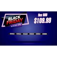 BLACK FRIDAY SALE FLEX SERIES 600 WARNING BAR STICK LIGHT AND TRAFFIC ADVISOR