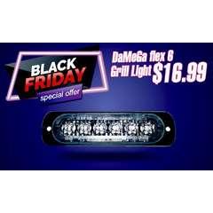 BLACK FRIDAY SALE DAMEGA FLEX 6 GRILLE LIGHT