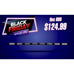 BLACK FRIDAY SALE FLEX SERIES 800 WARNING BAR STICK LIGHT AND TRAFFIC ADVISOR