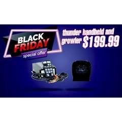 BLACK FRIDAY SALE DaMeGa Thunder Handheld Siren with Growler speaker