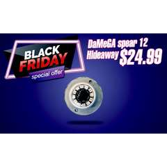 BLACK FRIDAY SALE DAMEGA SPEAR SERIES HIDE AWAY WITH BUILT-IN FLASHER