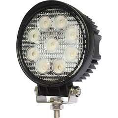 "27 Watt LED Work lights  4"" Round"