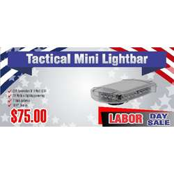 Tactical Mini Light Bar Labor Day Sale