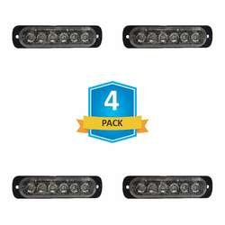 DAMEGA FLEX 6 SLIM LED GRILLE LIGHT 4 PACK