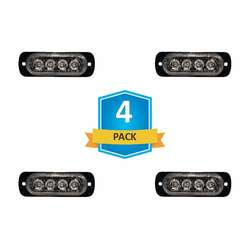 DAMEGA FLEX 4 SLIM LED GRILLE LIGHT 4 PACK