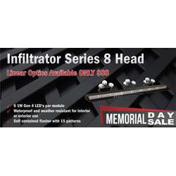 Infiltrator Series 8 Head Linear Warning Bar Memorial Day Sale
