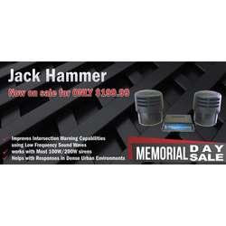 DaMeGa Jack Hammer Memorial day sale