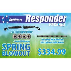SPRING BLOWOUT  RESPONDER PACKAGE