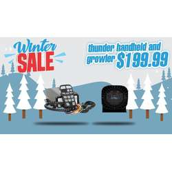 WINTER SALE DaMeGa Thunder Handheld Siren with Growler speaker