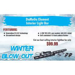 WINTERSALE DAMEGA ELEMENT INTERIOR LIGHTBAR