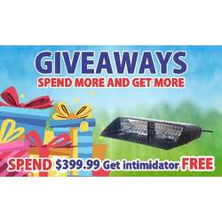 Intimidator LED Dash Light Promo