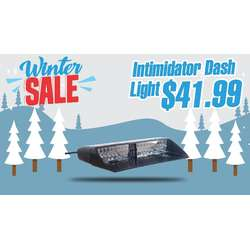 WINTER SALE INTIMIDATOR LED DASH LIGHT