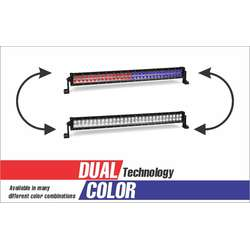 240 WATT DUAL COLOR COMBO SPOT AND FLOOD LIGHT DUAL ROW