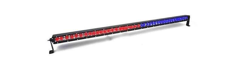 42 LED DUAL COLOR COMBO SPOT AND FLOOD LIGHT SINGLE ROW