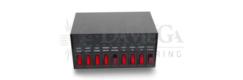 REPLACEMENT 9 BUTTON SWITCH BOX