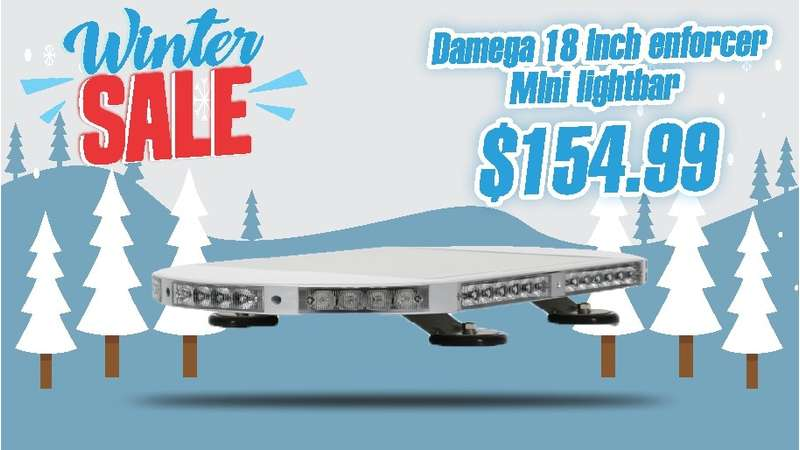 "WINTER SALE DaMeGa 18"" ENFORCER MINI LIGHT BAR"