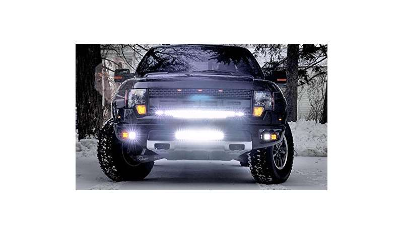 120 WATT FLOOD/SPOT COMBO 13200 LUMEN LIGHT BAR