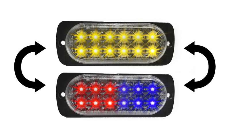 Black Friday DaMeGa Dual Color Chameleon FLEX 12 Grille Light