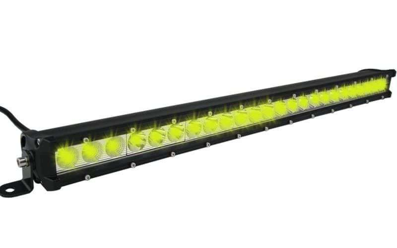 24 LED DUAL COLOR COMBO SPOT AND FLOOD LIGHT SINGLE ROW