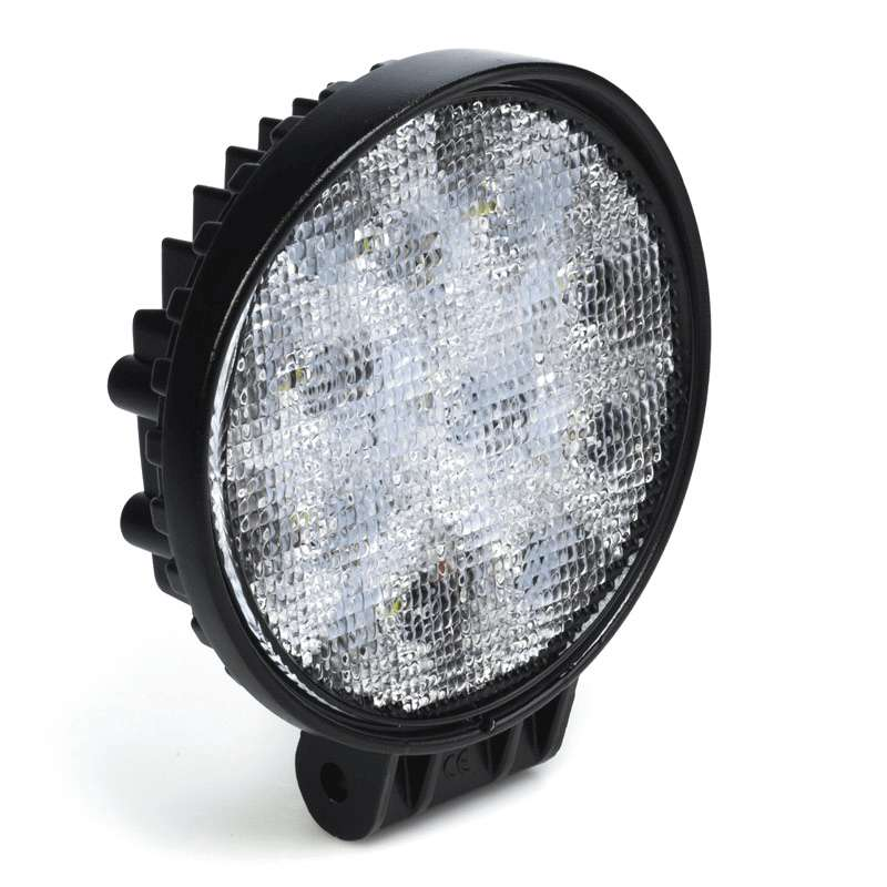 "27 WATT LED WORK LIGHTS 4"" ROUND"