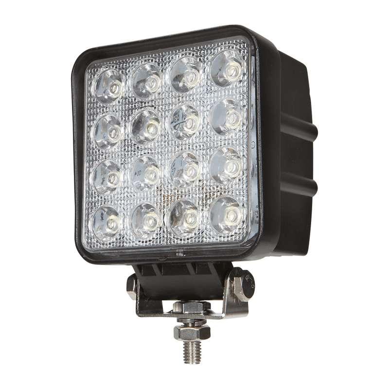 48 Watt Led Work Lights 4 Quot Square Warning And Emergency Light